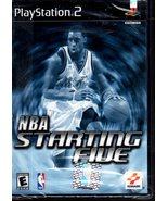 PlayStation 2 - NBA Starting Five - $11.50