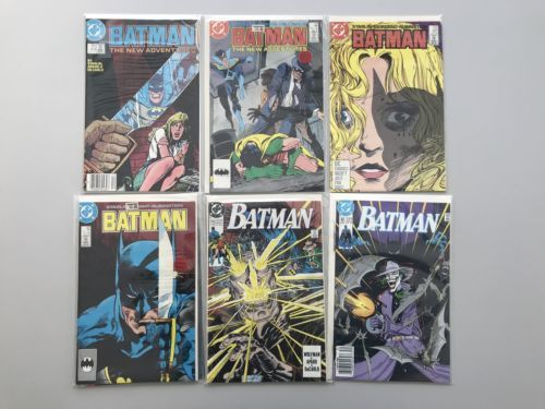 Lot of 11 Batman (1940) from #414-470 VF Very Fine