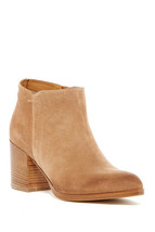 Alberto Fermani Womens Anzio Ankle Boot 10.5 Suede Side Zip Block Heel S... - €72,64 EUR