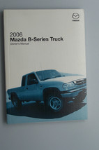 2007 mazda b series truck owners manual parts service new original - $39.99