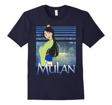 Disney Mulan Green Dress Sparkles Graphic T-Shirt Men - $17.95+