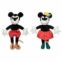Disney  90th Anniversary Mickey and Minnie Collectible Plush Doll Set - $98.95