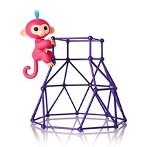 Fingerlings - Jungle Gym Playset + Interactive Baby Monkey Aimee Coral P... - $10.63