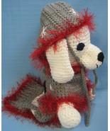 Pet Dog Ugly Christmas Sweater, Jumper, Coat, Costume Snowman Small Crochet - $35.00