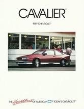1989 Chevrolet CAVALIER sales brochure catalog folder US 89 Chevy RS Z24 - $6.00