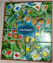 Game Parts Pieces Prize Property Board Game Milton Bradley Gameboard ONLY - $4.94