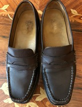 Cole Haan Brown Loafer lug sole. 8&1/2b very good condition - $12.20