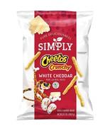 Simply Cheetos Crunchy, White Cheddar, 8.5 Ounce (4 Bag) - $35.63