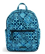 Vera Bradley Quilted Signature Cotton Leighton Backpack, Cuban Tiles - $69.90