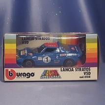 Lancia Stratos VSD 1:43 Scale Car by Bburago. - $24.00