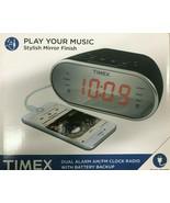 Timex - T2312B - Digital Tuning AM/FM Dual Alarm Clock Radio - Red LED D... - $34.60