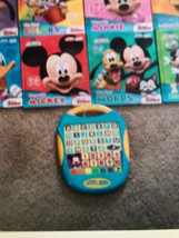 Mickey Mouse Disney smart pad tablet learning educational & books Lot set  - $20.00
