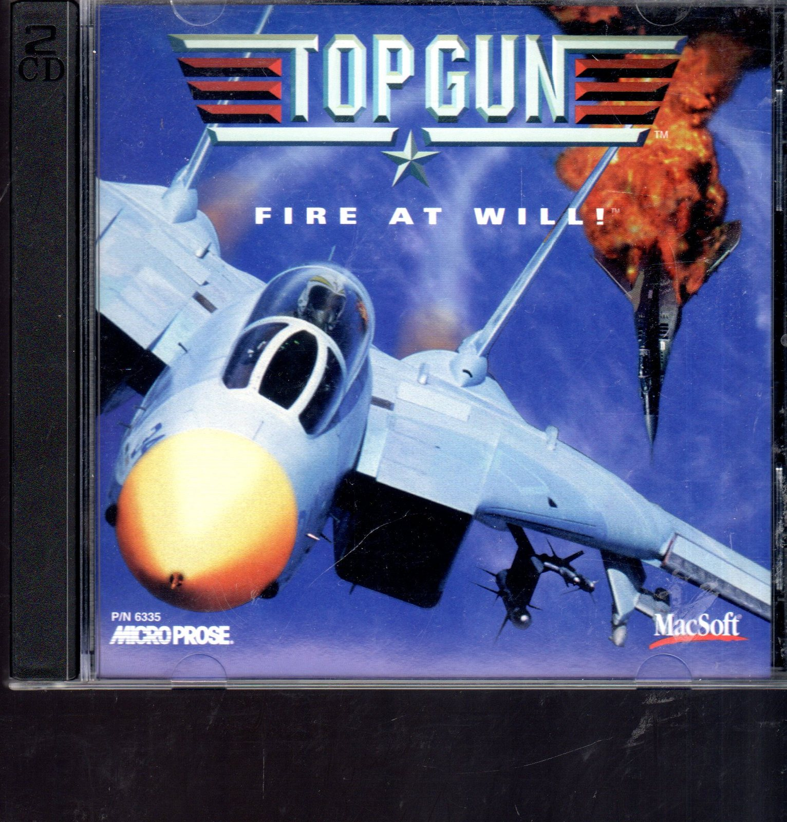 Top Gun - Fire At Will! - PC Windows Game