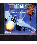 Top Gun - Fire At Will! - PC Windows Game - $4.50