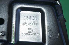 08-14 Audi A5 Sliding Leather Armrest Center Console Lid Cover image 11