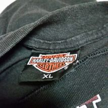 VTG 1989 Harley Davidson 3D Emblem Street Tough T Shirt 80s Tee Biker Trucker XL image 9