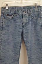 DKNY Girl's Jeans Size 5 Camouflage Pattern Cotton Blend Casual Colorful - $15.14