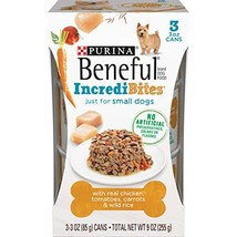 Purina Beneful Small Breed Wet Dog Food, IncrediBites With Chicken - 8 P... - $29.29