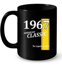 Classic 1967 Birthday Ceramic Mug Gift Fun Retro Ceramic Mug - $13.99+