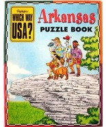 Arkansas Puzzle Book (Highlights Which Way USA?, + State Map [Paperback]... - $6.88