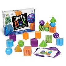 Learning Resources Mental Blox Critical Thinking Game, 20 Blocks, 20 Act... - $24.15