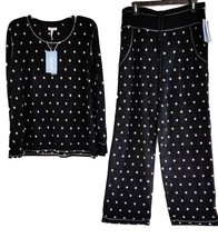 Jockey Women's Sleepwear MicroFleece Scoop Neck Top Pajama Pant Set S M ... - $19.99