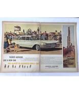 1960 Buick Invicta Estate Wagon Stan Galli  Monument Park Magazine Print Ad - $19.00