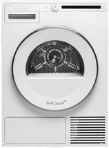 Asko T208HW Classic 24 Inch Front-Load Electric Heat Pump Dryer in White - $985.99
