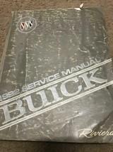 1992 BUICK RIVIERA Service Repair Shop Workshop Manual Factory OEM GM - $9.85