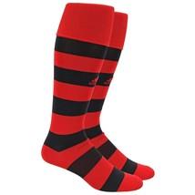 ADIDAS Metro IV Hoop OTC Soccer Socks sz M Medium (5-8.5) Red Black Clim... - $13.59