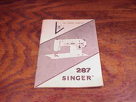 Singer 287 Sewing Machine Pictorial Only Instruction Manual Booklet, dat... - $7.95