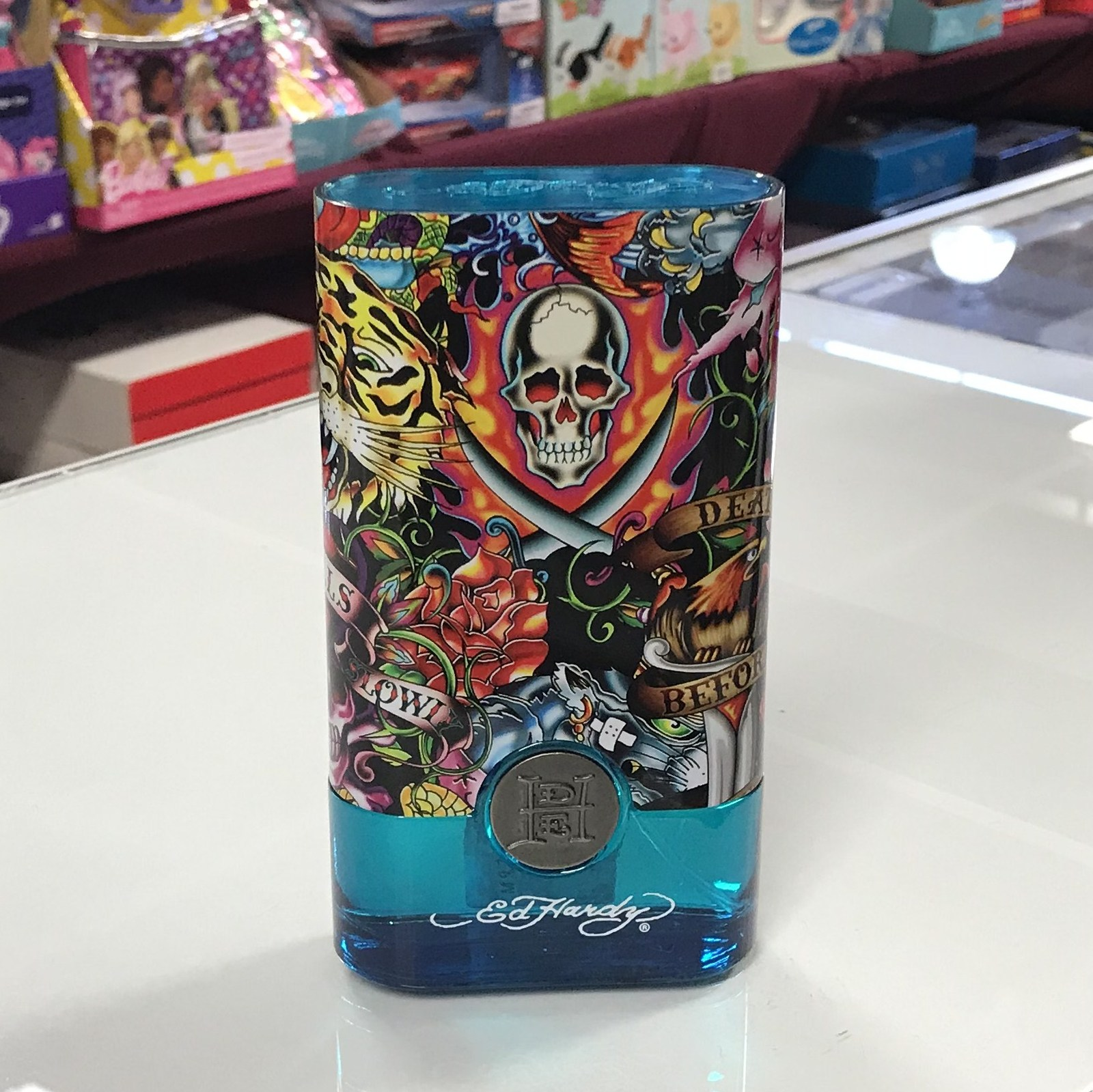 Primary image for Ed Hardy Hearts & Daggers by Christian Audigier 3.4 oz EDT spray, unbox