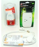 Lot of 2 Surge Protectors (1085 Joules & 840 Joules) and 1 6' Extension ... - $7.81