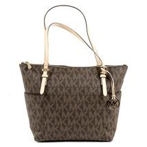Brown ONE SIZE Michael Kors Womens Handbag JET SET ITEM 35T2GTTT8B BROWN - $262.06