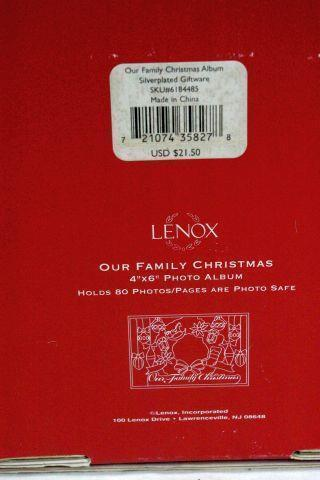 Lenox Our Family Photo Album