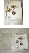 1964 New York World's Fair Men's Set Cufflinks & Keychain - $28.99