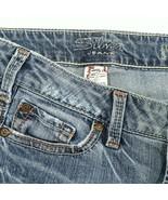 Silver Toni Distressed Light Wash Boot Cut Denim Jeans Women 27 Hemmed 2... - $24.61