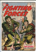 OUR FIGHTING FORCES #27-1957-DC-SILVER AGE-WWII-JOE KUBERT-fn - $105.54