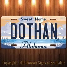 Dothan City/State College Alabama Vanity Aluminum License Plate - $12.82