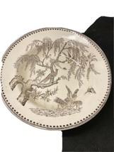 """anglo JAPANESE Brown white 9"""" Bowl BirdsBowl English - $62.89"""