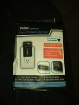Vivitar AC/DC Rapid battery charger for Sony FW50 - NP-FW50 Batteries QCB-104 - $12.13
