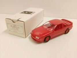 1991 CHEVY BERETTA GTZ BRIGHT RED PROMO ERTL CAR AMT NIB 6038 GENERAL MO... - $24.30