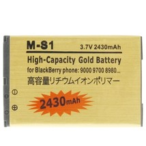 2430mAh M-S1 High Capacity Golden Edition Business Battery for BlackBerr... - $23.32