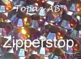 72 Swarovski Crystal Rhinestones ~30ss~ Topaz AB - $17.77
