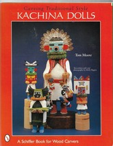 Carving  Traditional Style KACHINA DOLL-Tom Moore-Carve Traditional Kach... - $13.95