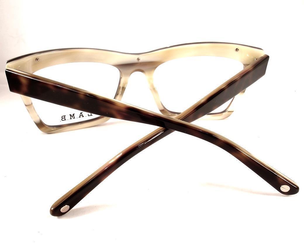 d7cde92e4a L.A.M.B. LA028 Gwen Stefani Tortoise Bone New Tura Women Designer 53-18-140