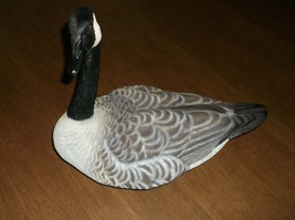VINTAGE HAND PAINTED LARGE CANADIAN GOOSE FIGURE - $60.00