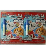 Lot of 2 Nickelodeon Paw Patrol Imagin Ink Mess Free Marker Activity Gam... - $14.84
