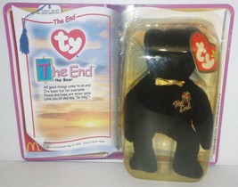 "McDonald's Introduced 8/31/99 TY Beanie Baby ""The End"" The Bear {3212} - $8.58"