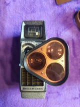 Vintage Bell and Howell 8mm Tri Lens Camera - $62.89